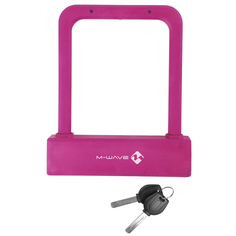 kljuČavnica m-wave b 205 shackle lock pink