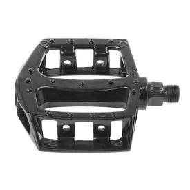 pedala m-wave flat black alu