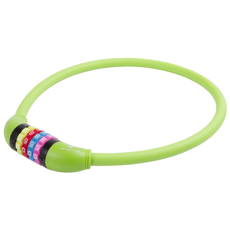 kljuČavnica m-wave ds 12.6,5 s cable lock green