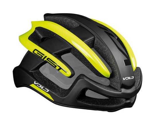 Čelada gist volo black matt/hi-viz yellow