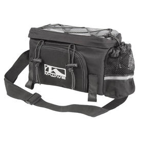 torba m-wave amsterdam expbicycle carrier bag black