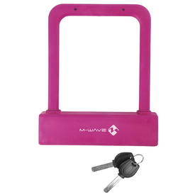 kljuČavnica m-wave b 205shackle lock pink