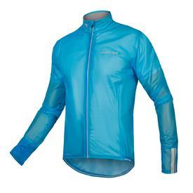 vetrovka endura fs260-pro adrenaline  race cape ii hi-viz blue.