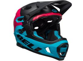 Čelada bell super dh mips black/berry/blue